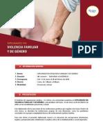Presentacion Diplomado Violencia Familiar Genero 2016 I