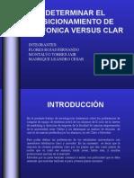Determinar El Posicionamiento de Telefonica Versus Clar