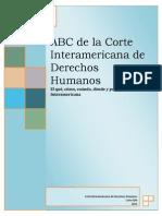 ABC Corte Interamericana de Derechos Humanos