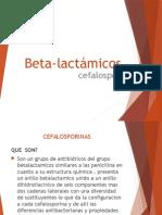 Beta Lactámicos