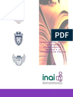 Manual de transparencia y acceso a la información México