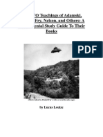 The UFO Teachings of Adamski, Menger, Fry, Nelson, and Others