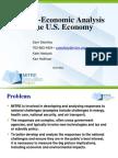Frame of Techno Economy Analysis of US Economy
