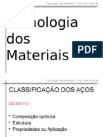 Aula 07 - Classificacao Dos Acos
