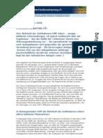 Institutional Survey Mai 2008