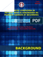 Limfoma Kutis Pada Pasien Yang Semula Di Diagnosis