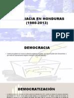 Democracia en Honduras (1980-2013)