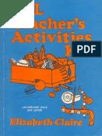Esl Teacher Activities