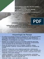 el valle alto de la cuenca del rio pilcomayo desde la arqueologia de paisaje, Ballivián Nov. 2010.ppt