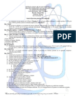 Ejercicios de F.M, C.C, F.E, Estequiometría