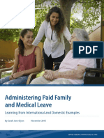 Administering Paid Family and Medical Leave