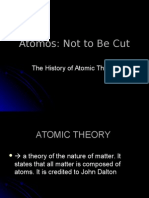 1 - History of Atomic Theory