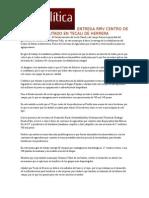 08-11-2015 Talla Política - Entrega Rmv Centro de Salud Rehabilitado en Tecali de Herrera