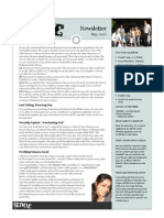 Newsletter 2008 05May