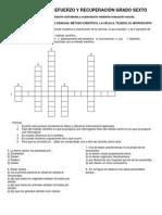 ACTIVIDADE+S+DE+REFUERZO+Y+RECUPERACIÓN+GRADO+SEXTO
