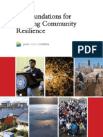 Six Foundations for Building Community Resilience