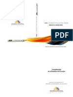 CONSTITUCION de La Republica Del Ecuador - Incluye Reformas Consulta Popular 7 Demayo