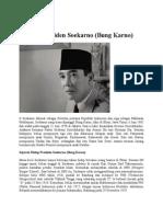 Sejarah Presiden Soekarno