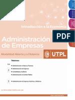 Guía Introducción a La Economía,UTPL
