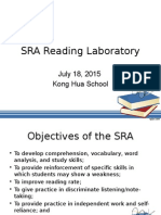 SRA Reading Laboratory