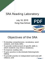 SRA Reading Laboratory