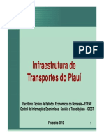 Infraestrutura de Transportes No Piauí