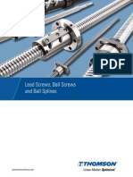 Leadscrews Ballscrews Splines Cten