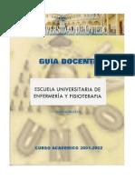 GD 2001-2002 Enfermeria