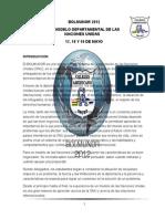 Bolmunor - Protocolo Oficial