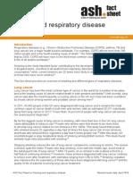 Smoking and Respiratory Diseases
