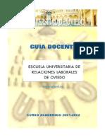 GD 2001-2002 Relaciones Laborales