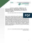 A Aplicação Da Agenda Ambiental No Setor Público Estudo de Caso Em Uma Instituição Da Administração Pública Federal Direta