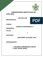 udch quimica