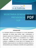 SECRETARIA GRAL. PRESIDENCIA DE GUATEMALA