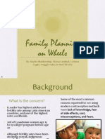 Family Planning On Wheels Presentation