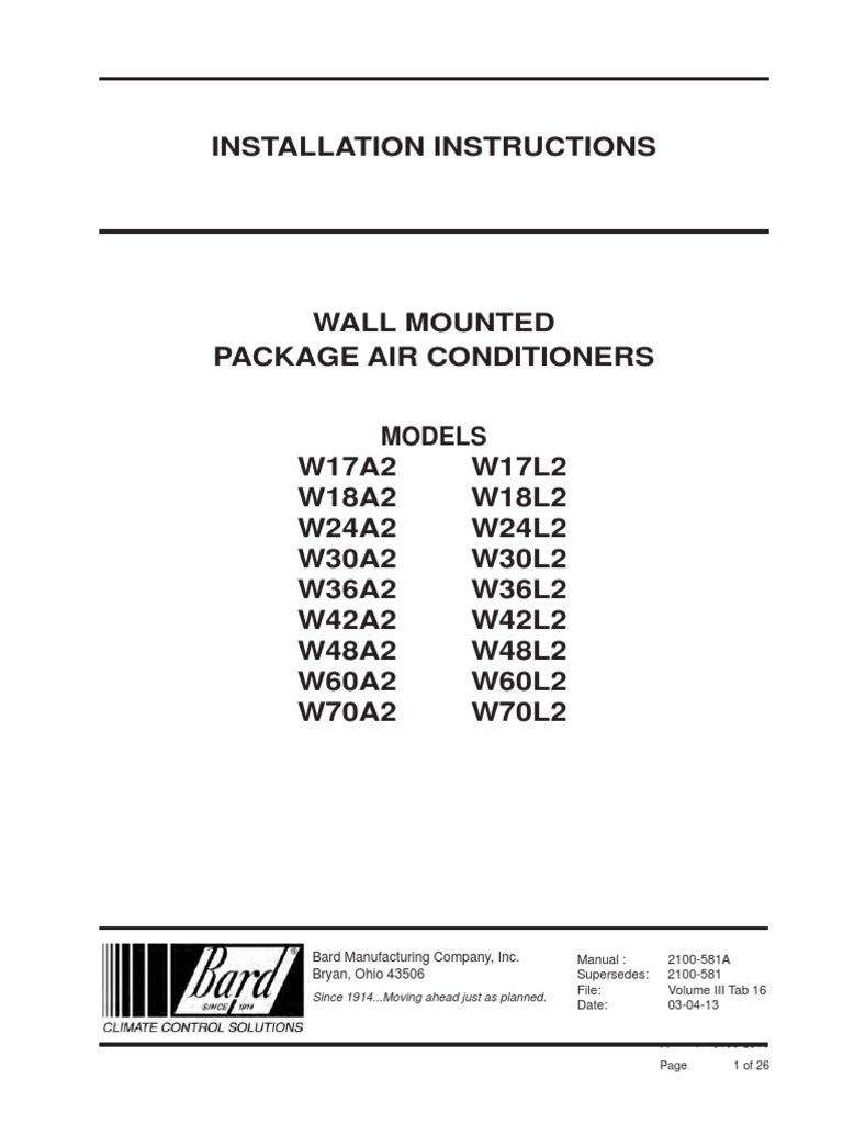 installation bard duct (flow) air conditioning Furnace Fan Limit Control Wiring Diagram