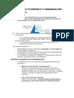 Desarrollo Económico y Urbanización (Resumen)