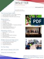 BIFS Newsletter, 2015-11-13 (English)