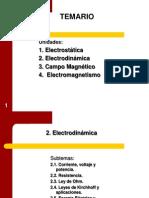 Unidad 2,Electricidad y Magnetismo