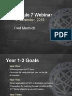 Webinar on Year 2