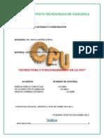 Unidad II. Estructura y Funcionamiento de La CPU