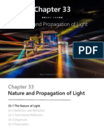 Chapter 33 Nature and Propagation of Light