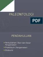 PALEONTOLOGI AWAL