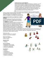 Ejercicios de Calentamient5esg5esgo y Articulaciones - Luciana