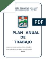 i.e 11257 Papayo Desaguaderero - iykfykPlan de Trabajo 2012