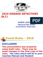 20116 Disease Detectives Powerpoint