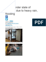 Cainta Under State of Calamity Due to Heavy Rain