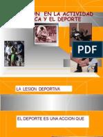 SEMANA 5 Lesiones Deportivas