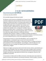 142 - ConJur - Embargos Culturais_ Richard Posner e as Racionalidades Econômica e Jurídica