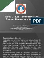 Taxonomias Educativas